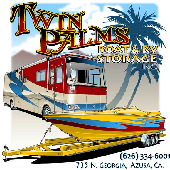 Twin Palms Boat and RV Storage - (626) 334-6001